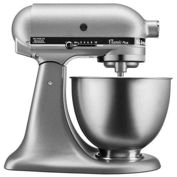 KitchenAid Classic Plus™ Series 4.5 Quart Tilt-Head Stand Mixer KSM75WH (White)